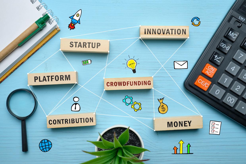 UI for crowdfunding platforms