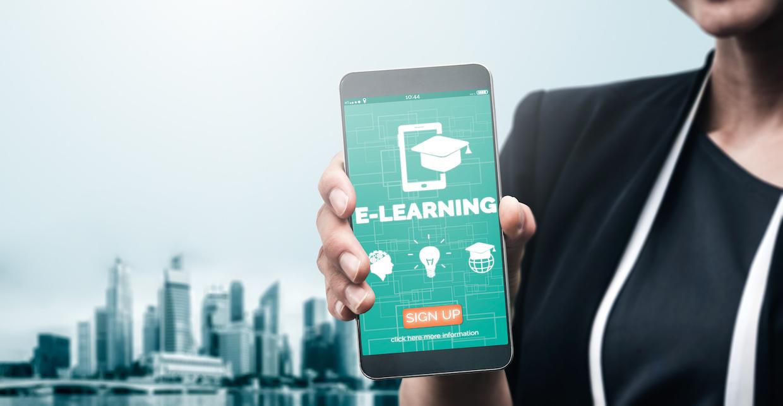 E-learning mobile apps