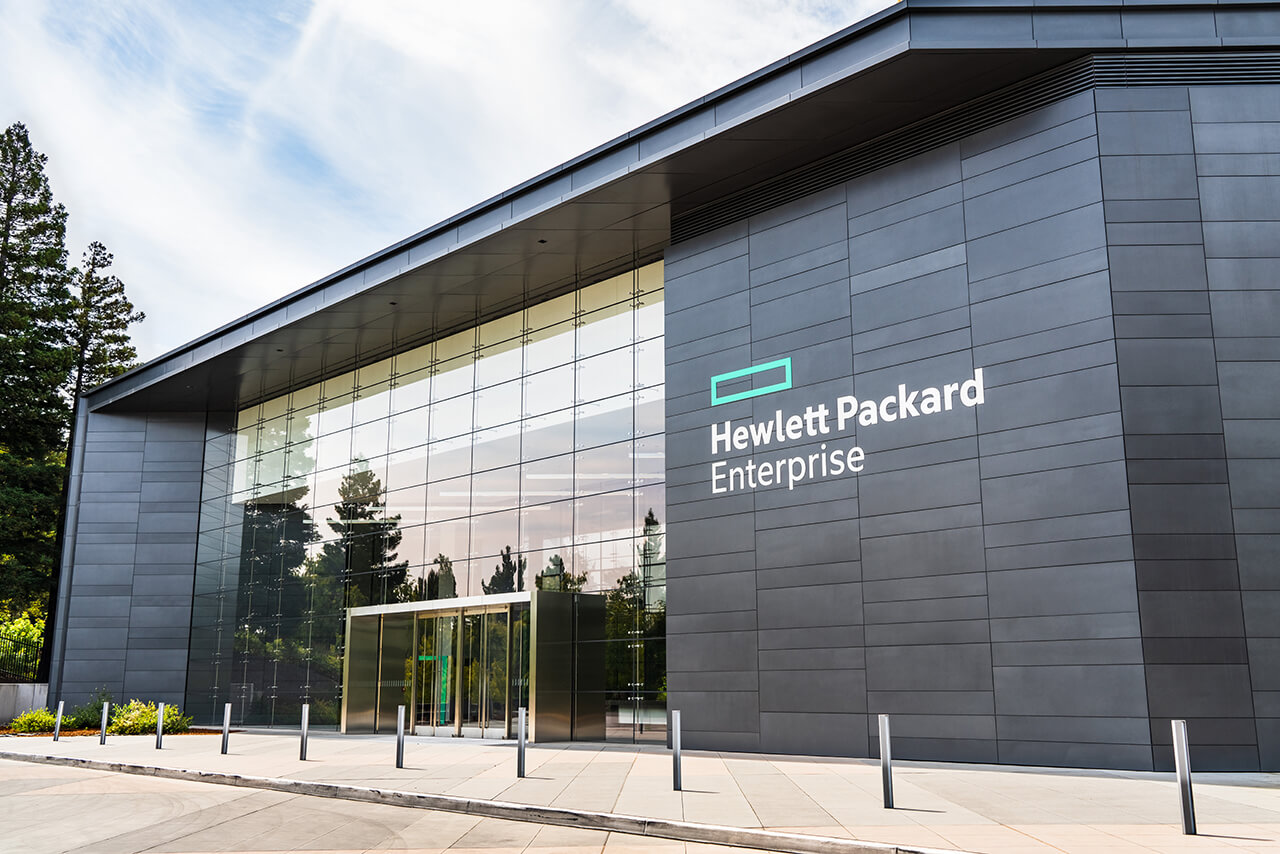 HPE Headquarters in Silicon Valley